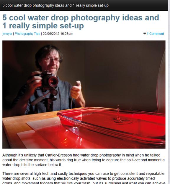 Water Droplet Ideas